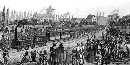 first-locomotive