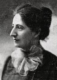 Zeitgenössische Fotografie der deutschen Frauenrechtlerin und Sozialpädagogin Alice Salomon (1872-1948).