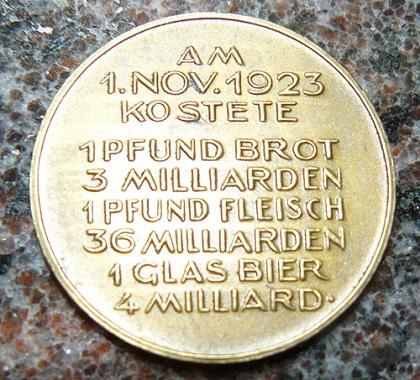 Inflation-medal