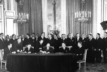 Paris, Unterzeichnung Elysée-Vertrag
