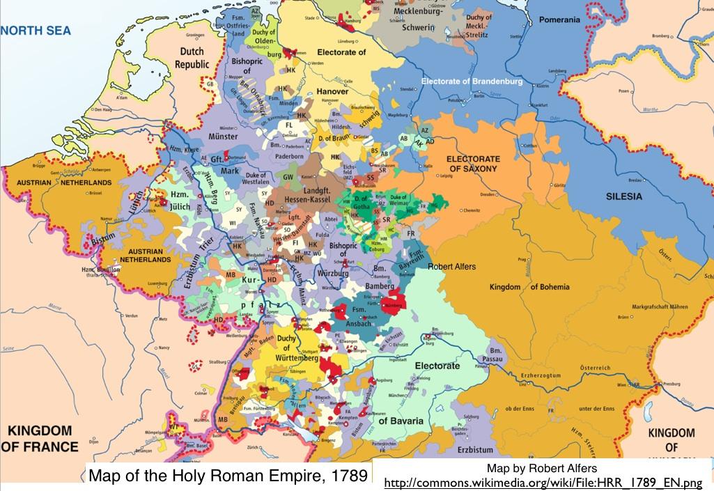18th-century history of Germany