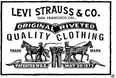 The Origin of Levi's Denim Blue Jeans - Levi Strauss