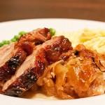 Roast Pork and Sauerkraut
