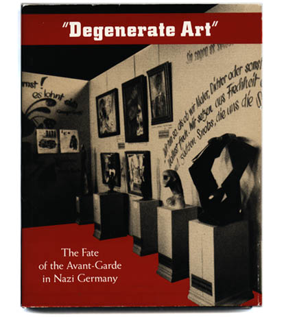 degenerate art Degenerate art (german: entartete kunst) was a term adopted by the nazi regime in germany to describe virtually all modern art such art was banned on the grounds.