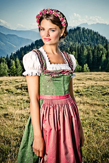A Glimpse From The Past Traditional Bavarian Clothing