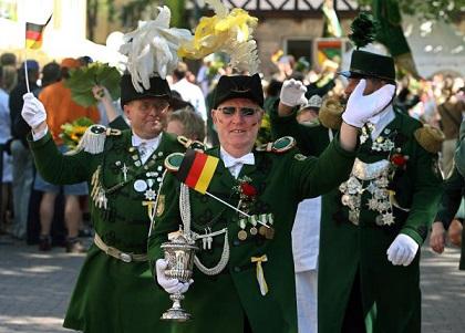 Schützenausmarsch in Hannover
