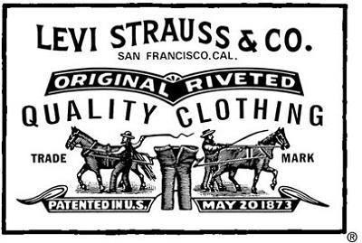 Resultado de imagen para logo de Levi Strauss América.