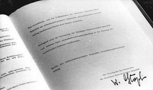The New East German Constitution and the Question of Identity