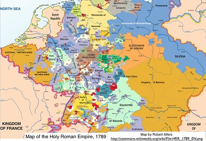 Map Of States In Germany.The Smaller States Of Germany German History German Culture