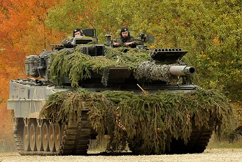Leopard 2A6 main battle tank