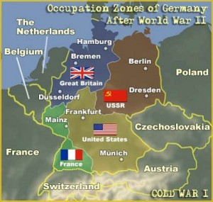 Postwar Occupation and Division of Germany