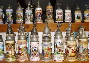 German Beer Steins