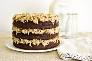 The Not-So-German Chocolate Cake (Traditional Recipe)