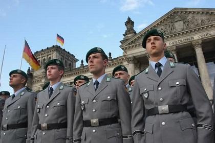 east german beret