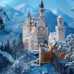 German Castles – Medieval Severe Beauties