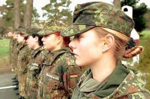 Women in German army