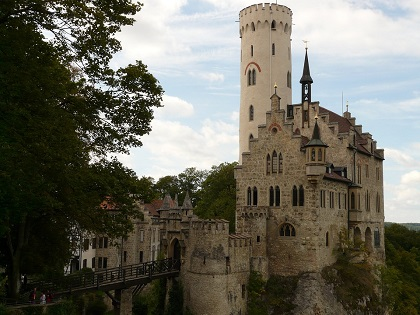 Lichtenstein Castle Schloss Lichtenstein A Fairy Tale