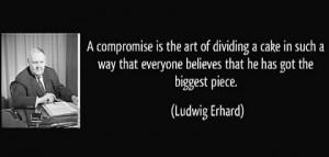 Ludwig Erhard and the Grand Coalition