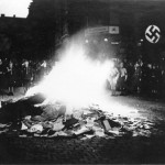 """Aryanization"" of Germany in 1933 and mass book burning"
