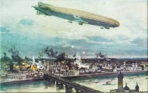Zeppelins the Bombers