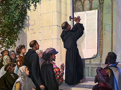 martin luthers 95 theses commentary Download the app and start listening to martin luther and john calvin: leaders of the protestant reformation martin luther and his 95 theses to commentary.
