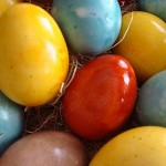 How to Color the Easter Eggs