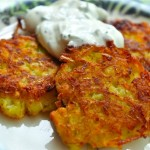 Kartoffelpuffer (German Potato Pancakes)
