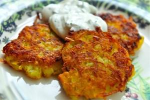 Kartoffelpuffer (German Potato Pancakes)