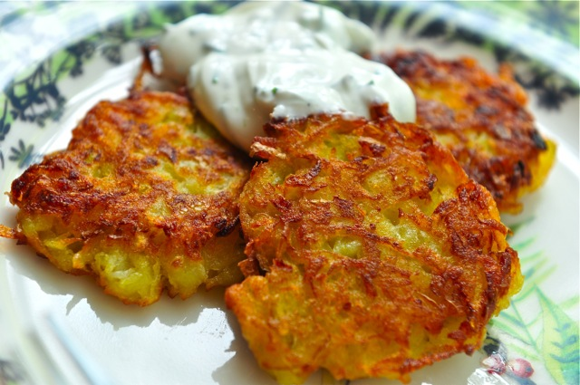 Potato pancakes german recipes german culture german potato pancakes are a quick and easy vegetarian dish they are shallow fried pancakes of grated or shredded potatoes flour and eggs often flavored forumfinder Image collections
