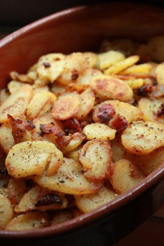 German-Style Fried Potatoes - Bratkartoffeln