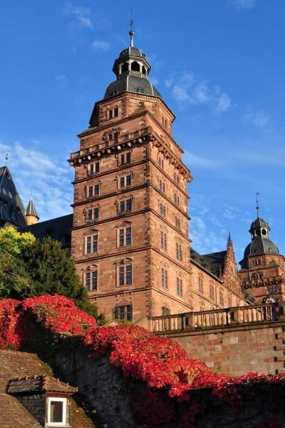 Castle Johannisburg in Aschaffenburg