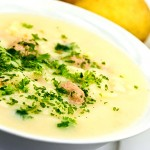Spiced Potato Soup (Kartoffelrahmsuppe)
