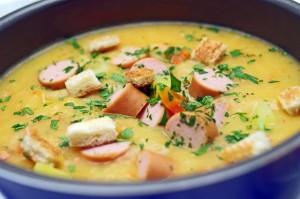 Swabian Potato Soup (Schwäbische Kartoffelsuppe)