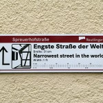 Spreuerhofstrasse – World's Narrowest Street