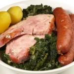 Grünkohl mit Pinkel (Kale with Sausage)