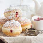 Berliner Pfannkuchen (German Doughnut)
