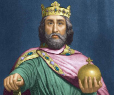 charlemagne spouse