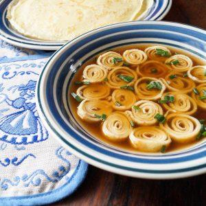 Flädlesuppe – German Pancake Soup