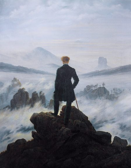 Wanderer above the sea of fog analysis romanticism
