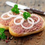 Mettbrötchen – Raw Minced Pork Sandwich