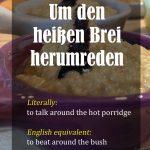 German Idioms – Part 3