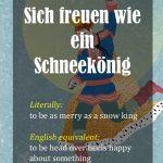 German Idioms – Part 4