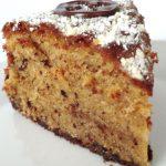 Hazelnut Cake with Cream - Nußkuchen mit Sahne