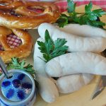 Weißwurst, German White Sausage