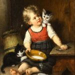 Rudolf Epp, the Man Who Loved Painting Cats