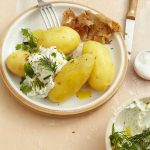 Boiled Potatoes with Quark - Pellkartoffeln mit Quark